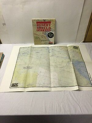 Desert Storm Shield Fact Book With Map Free Shipping