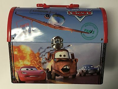 Collectable Disney Pixar Cars Round Top Lunch Box - ⭐️With Misprint⭐️