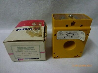 Nilsen CTME-1601 Current Transformer Ratio:60/1 Class:5 UA:5 Ohm:5 New