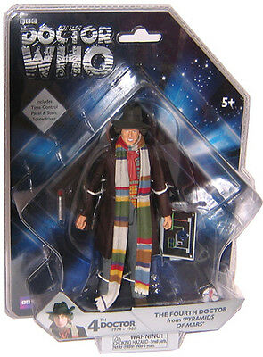 """5"""" Doctor Who 4th Dr Tom Baker Action Figuree, """"Pyramids of Mars"""""""