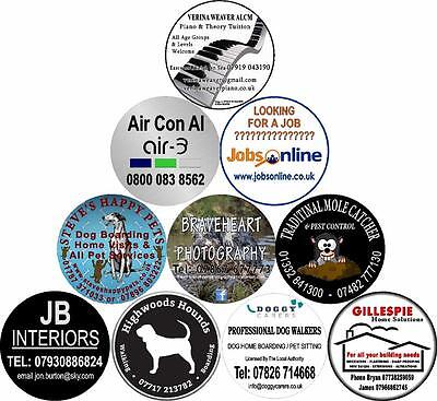 4x4 Spare Wheel Cover Advertising Sticker Business Customize Personalised Design