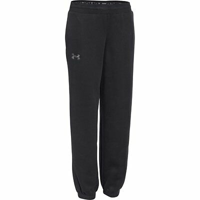 1259695 Under Armour Boys/' Joggers Bottoms Fitness Storm Big Logo Pants