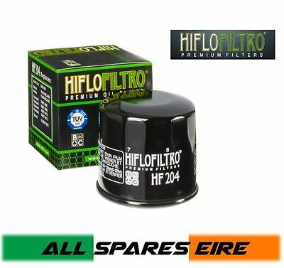 Hiflo Hf204 Motorcycle Oil Filter -  See Fitment Guide Within