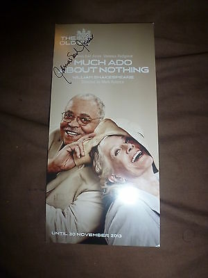 James Earl Jones Signed Much Ado About Nothing Theatre Flyer Star Wars