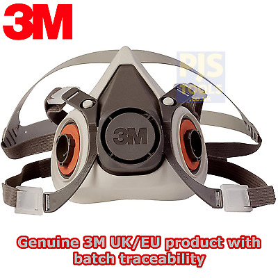 3m 6000 series half mask reusable respirator 6100 small 6200 medium 6300 large