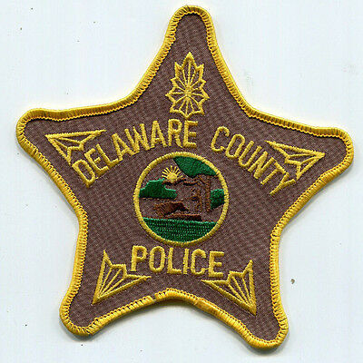 Delaware County Indiana Police Patch