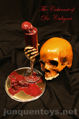 Cabernet Dr. Caligari - Grapes of Wraith - Halloween Centerpiece Death Art Decor