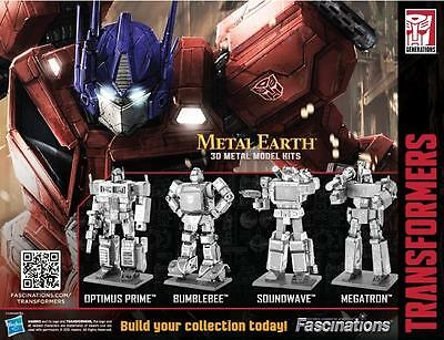 Transformers - Metal Earth 3D Metal Model Kits by Fascinations