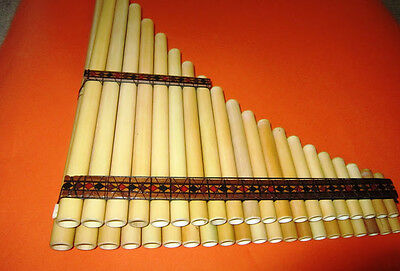 Andean Chromatic Panflute 41 Pipes From Peru Case Included See Video