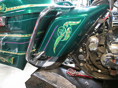 Harley Stretched Side Covers For Touring Models  97-08
