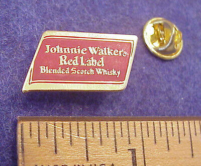 Johnnie Walker Red Label Scotch Whisky Advertising Promo pin