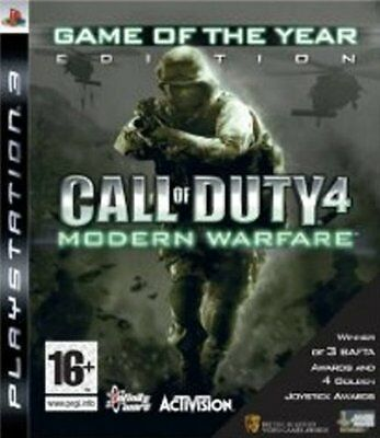 Call of Duty 4: Modern Warfare - Game of The Year Edition PS3 NEW AND SEALED