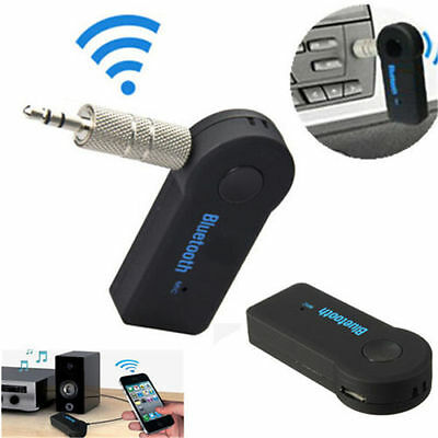 Wireless Bluetooth 3.5mm Car Aux Audio Stereo Music Receiver Adapter with Mic