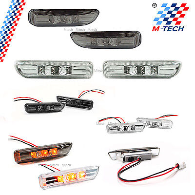 Intermitentes Laterales 3 Leds Bmw E46 Compact Side Marker Clignotant Indicatori