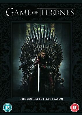 Game Of Thrones The Complete First Season Box Set Dvd Series 1 Region 2 Uk New