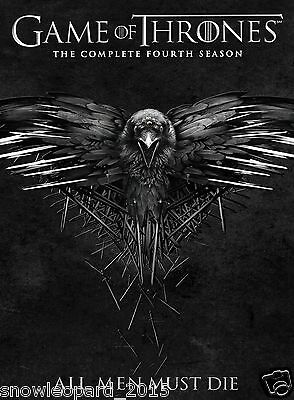 Game Of Thrones The Complete Fourth Season Box Set Dvd Series 4 Region 2 Uk New