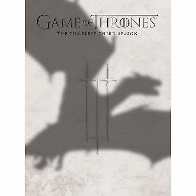 Game Of Thrones The Complete Third Season Box Set Dvd Series 3 Region 2 Uk New