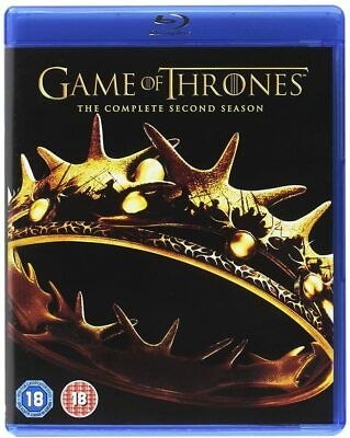 Game Of Thrones The Complete Second Season Box Set Blu Ray Series 2 Uk Brand New