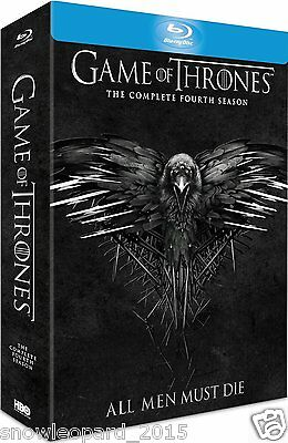 Game Of Thrones The Complete Fourth Season Box Set Blu Ray Series 4 R2 Uk New
