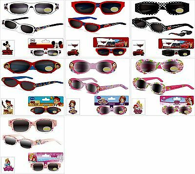 Sonnenbrille Cars Mickey Mouse Sofia Jake Princess Kindersonnenbrille 100%UV