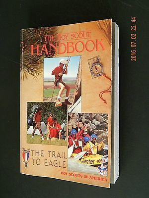 THE BOY SCOUT HANDBOOK The Trail To Eagle With Parent's Guide BSA 1990