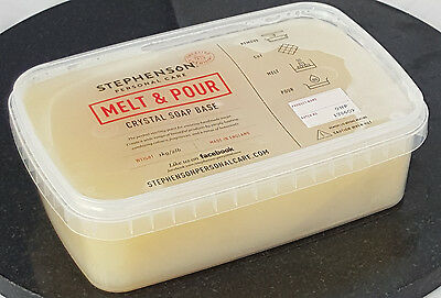 Organic 2kg Melt and Pour Soap Base - SLS and SLES Free - Soap Making and Craft