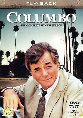 COLUMBO COMPLETE SERIES 9 DVD All Episodes Nineth Season New UK Sealed R2 Rel.