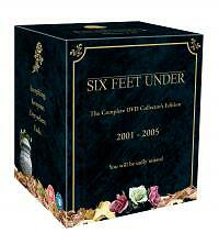 SIX FEET UNDER COMPLETE SERIES 1 2 3 4 5 DVD Box Set All Episodes Brand New UK