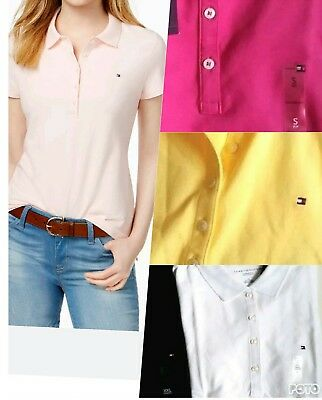 TOMMY HILFIGER womens Polo shirt CLASSIC Fit