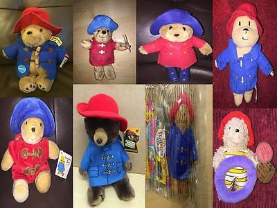 Paddington Bear Soft Toy & Figures