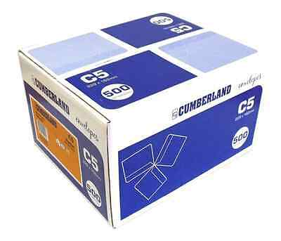 500 C5 Premium Cumberland Stationery Business Envelopes 160x230mm Paper
