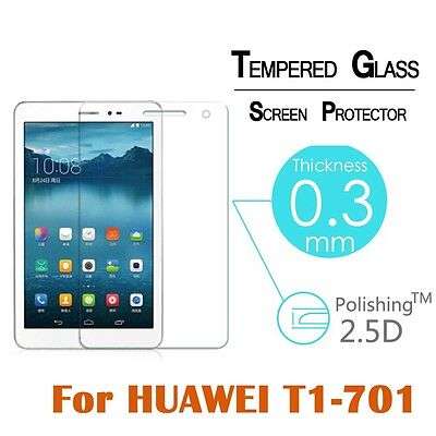 """For Huawei MediaPad T1-701 7"""" Premium 9H Tempered Glass Screen Protector Film"""