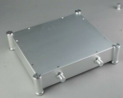 High End Aluminum Chassis DIY Case DAC Enclosure Amplifier Cabinet 356X84X316mm