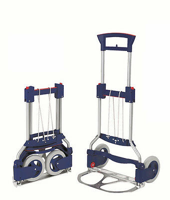 RuXXac Business Hand Truck - Folding Collapsible compact unique trolley