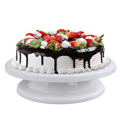 Rotatable Wedding Cake Stand Anti-Skid Turntable Pastry Display Stand Cake Tool
