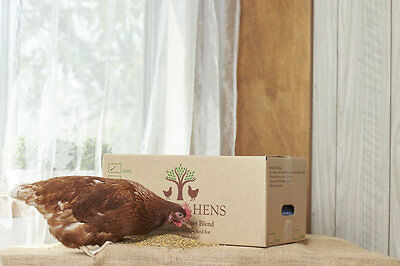 NEW - Chicken Feed for Backyard Laying Hens, Family Recipe, Superb Eggs 10kg
