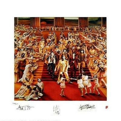 Rolling Stones It's Only Rock N Roll Limited Edition Lithograph Art Poster