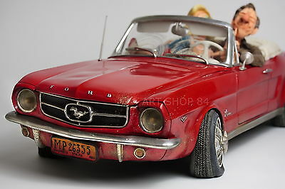 GUILLERMO FORCHINO - limitierte XXL Edition `65 FORD MUSTANG CONVERTIBLE FO85078