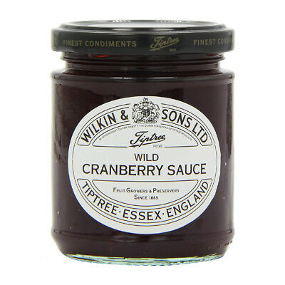 NEW Tiptree Wild Cranberry Sauce 210g