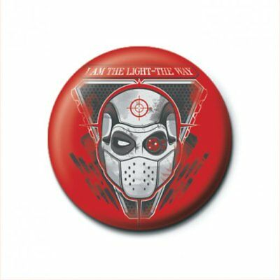 Suicide Squad Pin Badge 'I Am The Light' 25mm Badge Official