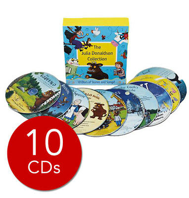 Julia Donaldson Audio Collection - 10 CDs