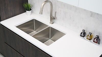 "30"" Single Bowl Stainless Steel Kitchen Sink S-304 - Onyx"