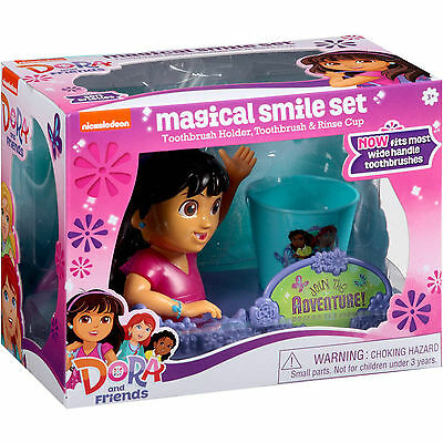 Nickelodeon Dora and Friends Magical Smile Set 3 Pieces Kids Oral Care