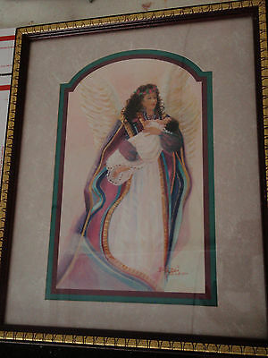 Home Interior picture of Angel with Baby by Bettie Hebert-Felder (Reduced