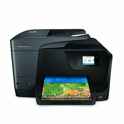 HP Business OfficeJet Pro Wireless All-in-One Color Photo Print Copier Fax Scan