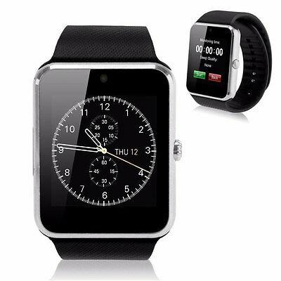 Bluetooth GT08 Smart Watch Reloj Inteligente For Android IOS Phone Huawei Wechat