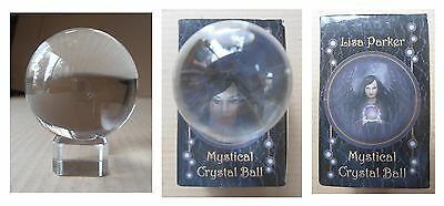 Sfera di cristallo Mystical Crystall Ball palla magica cm 5 con base in vetro