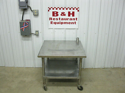"""30"""" Stainless Steel Heavy Duty Work Table Equipment Hobart Mixer Stand"""