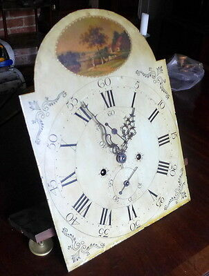 Late 18th Cent Longcase Clock Movement • £350.00