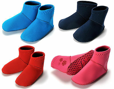 Konfidence Paddlers Baby Toddler Neoprene Swim Shoe Sock Foot Protection 6-36m
